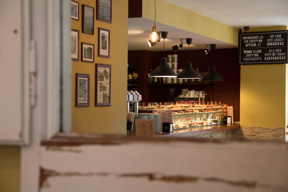 Bar de pinchos en el Poble Sec